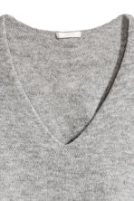 Fine-knit Sweater - Gray melange - Ladies | H&M CA 3