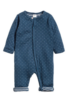 Cotton all-in-one pyjamas