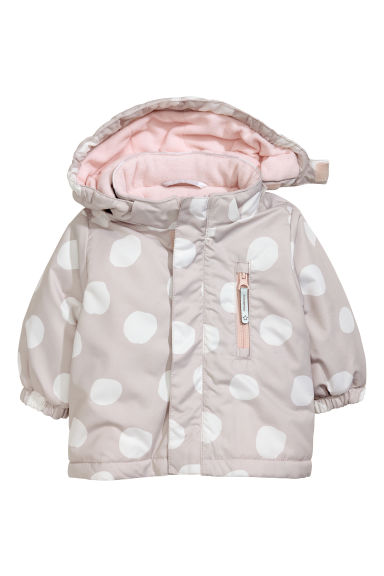 Padded outdoor jacket - Mole -  | H&M GB