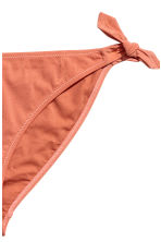 Bikini bottoms with ties - Rust - Ladies | H&M 3