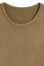 Viscose jersey T-shirt - Khaki - Men | H&M 3