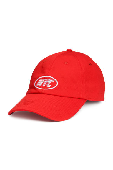 Cap - Red - Men | H&M CN 1