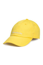 Cap - Yellow - Men | H&M CN 1