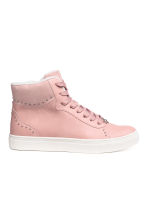 Sneakers alte foderate - Rosa -  | H&M IT 1