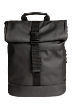 Rubber backpack - Black - Men | H&M CN 1