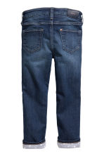 Slim Lined Jeans - Dark denim blue -  | H&M 3