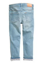 Slim Lined Jeans - null -  | H&M CN 3