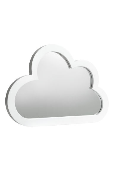 Cloud-shaped mirror - White - Home All | H&M CA 1