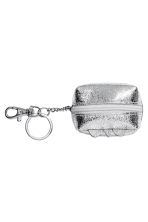 Mini pouch with a key chain - Silver-coloured/Unicorn - Ladies | H&M 2