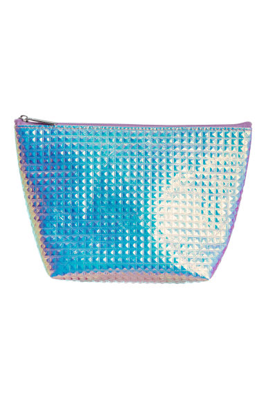 Make-up bag - Purple/Metallic - Ladies | H&M 1