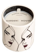 Bougie parfumée - Blanc/Garden House - Home All | H&M FR 3