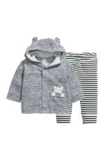 Hooded top and trousers - Grey - Kids | H&M CN 1