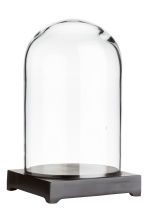 Glass dome - Clear glass/Black - Home All | H&M CN 2