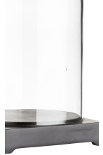 Glass dome - Clear glass/Black - Home All | H&M CN 3