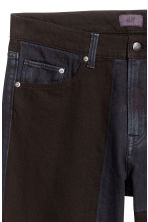 Block-patterned jeans - Black/Blue-grey - Men | H&M 5