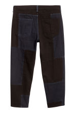 Block-patterned jeans - Black/Blue-grey - Men | H&M 3