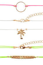 3-pack chokers - Neon - Ladies | H&M 2