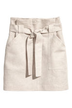 Cargo skirt - Light beige - Ladies | H&M 2