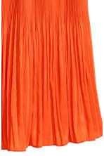 Pleated skirt - Orange - Ladies | H&M CN 3