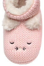 Soft slippers - Light pink - Kids | H&M CN 3