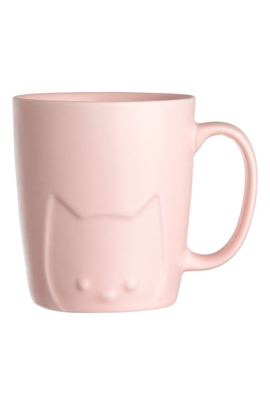Porcelain mug - Light pink - Home All | H&M IE 1