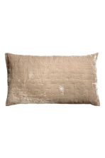 Copricuscino in velluto - Beige - HOME | H&M IT 2