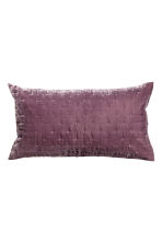 Velvet cushion cover - Purple - Home All | H&M CN 1