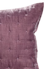 Velvet cushion cover - Purple - Home All | H&M CN 3