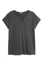 Cotton T-shirt - Black - Men | H&M IE 2