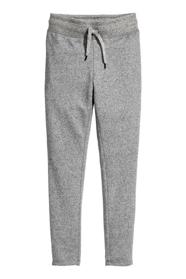 Slim fit joggers - Grey marl - Kids | H&M CN