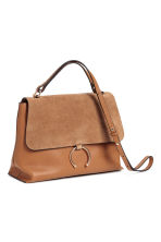 Leather shoulder bag - Light brown - Ladies | H&M GB 2
