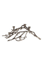 Branch-shaped candlestick - Silver-coloured - Home All | H&M CN 1