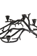 Bougeoir en forme de branche - Noir - Home All | H&M CA 2