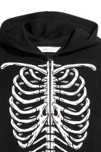 Sweatshirt all-in-one suit - Black/Skeleton -  | H&M CN 4