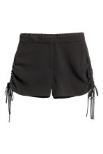 Shorts with drawstrings - Black - Ladies | H&M 2