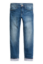 Slim Lined Jeans - Denim blue - Kids | H&M 1