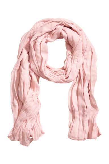 Large scarf - Light pink - Ladies | H&M GB