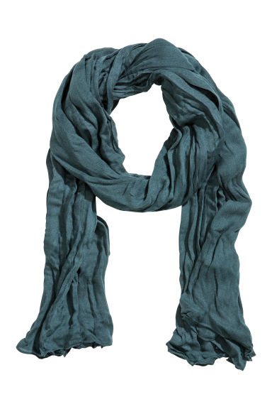 Large scarf - Turquoise - Ladies | H&M