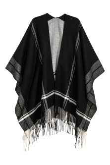 Poncho with Fringe