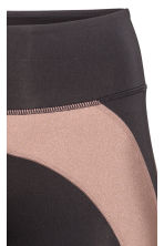 Sports tights - Black/Nougat - Ladies | H&M 4