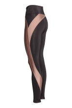 Sports tights - Black/Nougat - Ladies | H&M CN 3