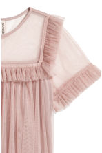 Top tulle con bordo a volant - Rosa antico - DONNA | H&M IT 3