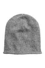 Knitted hat - Grey - Ladies | H&M 1