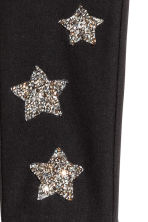 Treggings - Nero/stelle glitter -  | H&M IT 2