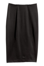 Jersey pencil skirt - Black - Ladies | H&M 2