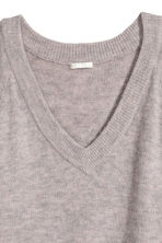 V-neck Sweater - Gray - Ladies | H&M CA 3
