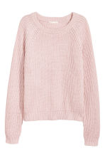 Ribbed jumper - Light pink - Ladies | H&M CA 2