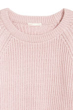 Ribbed jumper - Light pink - Ladies | H&M CA 3
