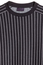 Striped T-shirt - Black/white striped - Men | H&M CA 3