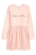 Sweatshirt dress - Powder pink -  | H&M CN 2